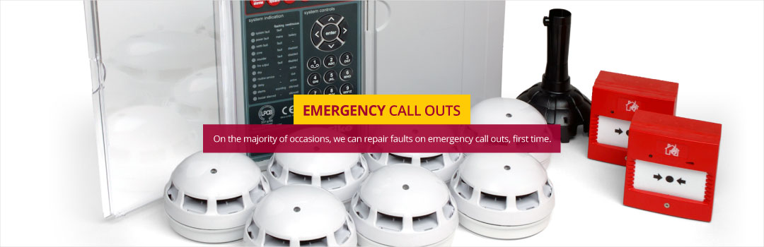 Emergency Call Outs - On the majority of occasions, we can repair faults on emergency call outs, first time.