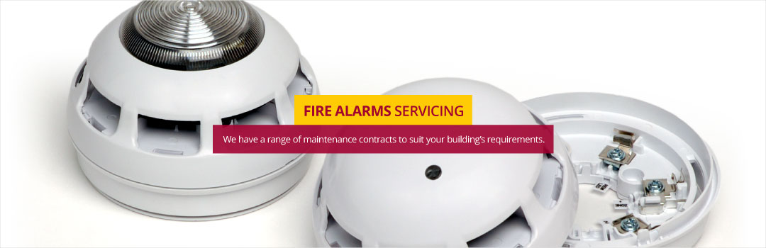 Our Fire Alarm Servicing contracts give you peace of mind that your business or tenants are protected.