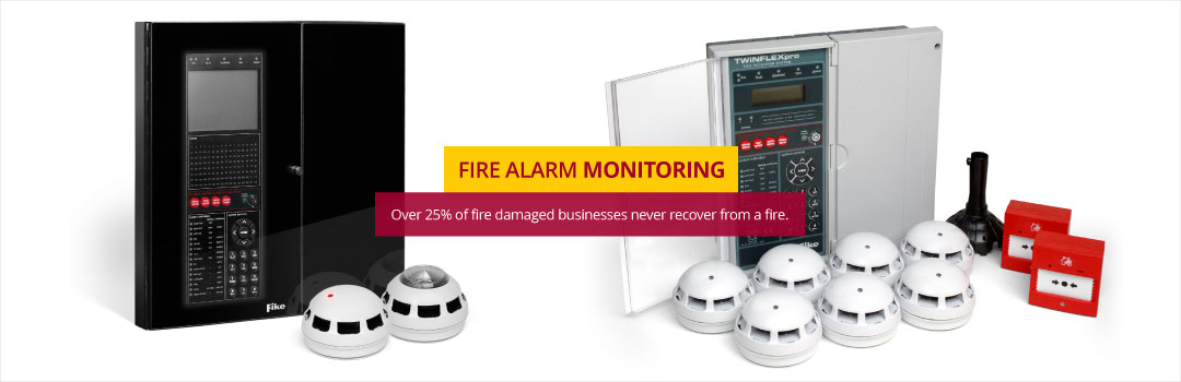 Fire Alarm Monitoring - Our station can notify the emergency services in seconds.