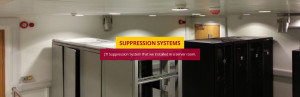JTI Fire Suppression System - In use in a server room.